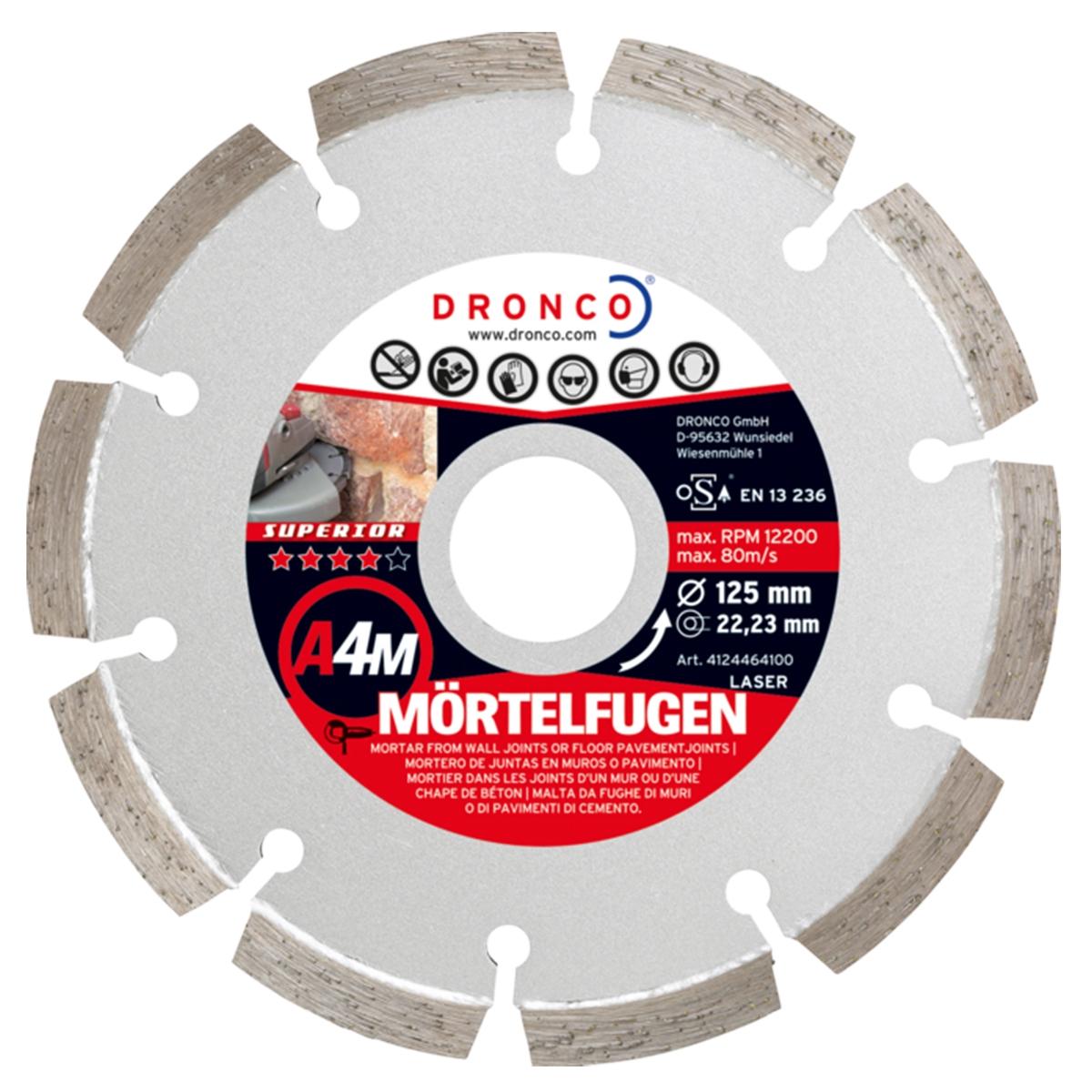 Mortar Raking Disc